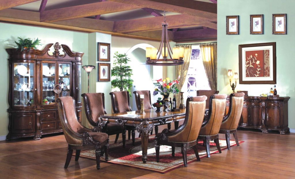 Old World Charm Dining Set By McFerran